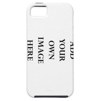 personalice su caja del iPhone 5 Funda Para iPhone 5 Tough