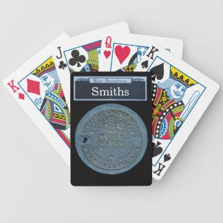 Personalice su propia placa de calle de Borbón Baraja Cartas De Poker
