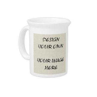 Personalice sus propias jarras de la porcelana