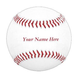 Personalice un béisbol de encargo con su nombre