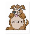 Personalice un perro de perrito, <TEXT>