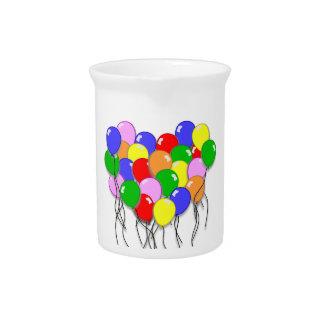 Personalícelo - manojo de globos jarras para bebida