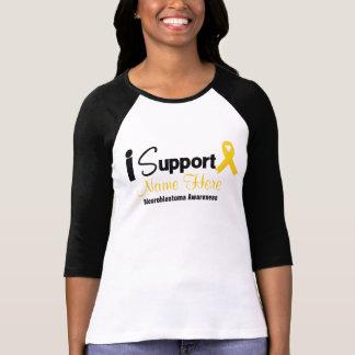 Personalíceme apoyan la conciencia de tee shirts