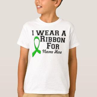Personalíceme llevan una cinta verde playera
