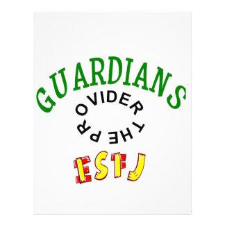 Personalidad del guarda de ESFJ Plantillas De Membrete