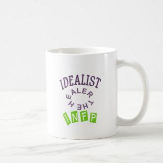 Personalidad del idealista de INFP Tazas