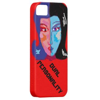 Personalidad dual iPhone 5 carcasa