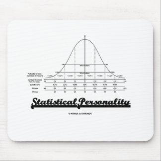 Personalidad estadística curva de Bell Alfombrilla De Ratones