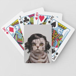 Personalidad linda de la muñeca del gato de los barajas de cartas
