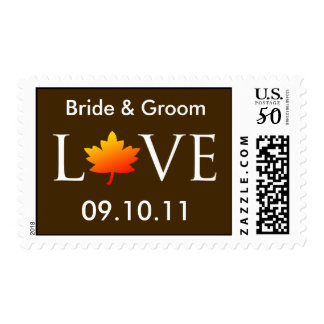 Personalisable Save The Dates Postage Stamps