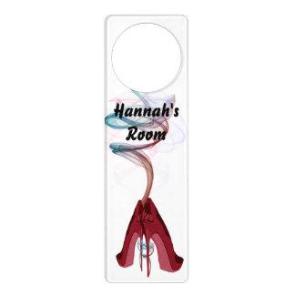 Personalisable Smoking Stiletto Art Door Hanger