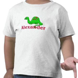 Personalise Name Dinosaur Toddler T-Shirt