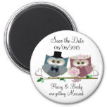 Personalise Save the Date Wedding Magnet Refrigerator Magnets