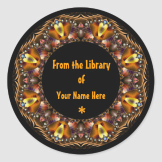 Personalise this Bookplate Sticker label