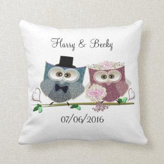 Personalise Wedding Memento Pillow