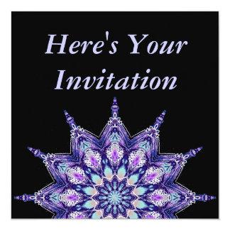 "Personalise Your Party Invitation 5.25"" Square Invitation Card"