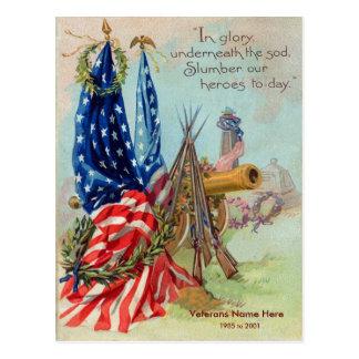 Personaliseable Vintage American  Postcard