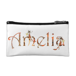 Personalised `Amelia' design Cosmetic Bag