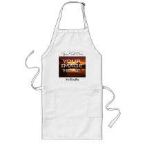 Personalised Apron With Photo And Text