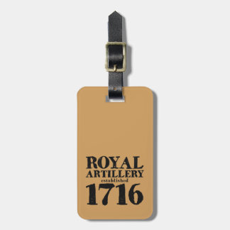 Personalised Artillery 300 Luggage Tag