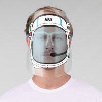 Personalised Astronaut Helmet Face Shield