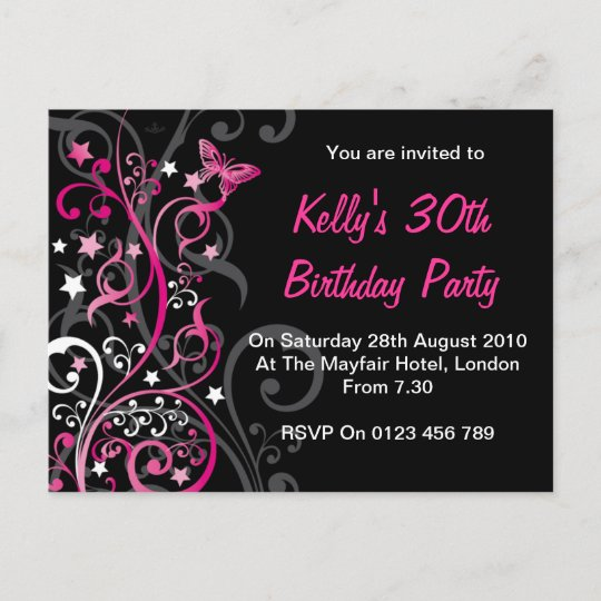 Personalised birthday invitations zazzle personalised birthday invitations filmwisefo