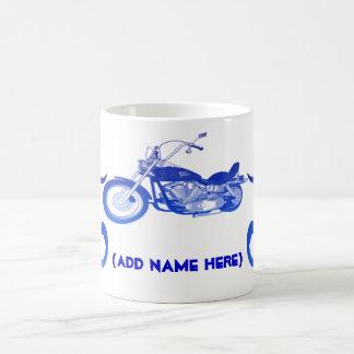 Personalised Blue Bike - Mug