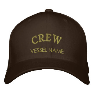Personalised Boat Name Crew Hat