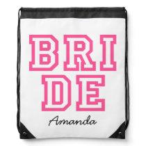 Personalised BRIDE bag