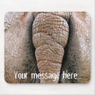 Personalised Cheeky Rhino Bottom Mousepad
