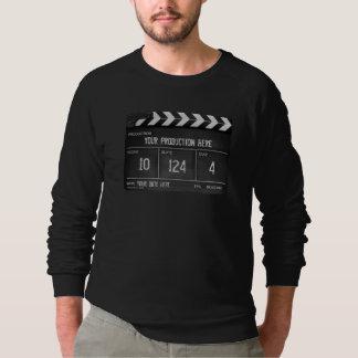 Personalised Clapperboard/Slate Sweatshirt