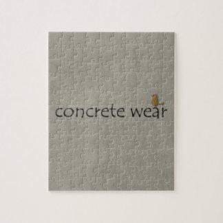 Personalised Cool Concrete Wear Urban Bird Jigsaw Puzzle