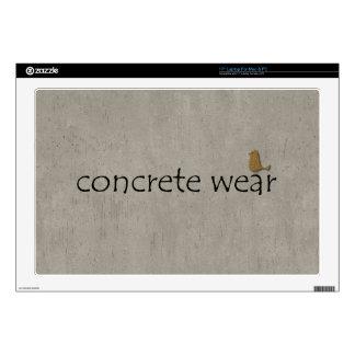 Personalised Cool Concrete Wear Urban Bird Laptop Decals
