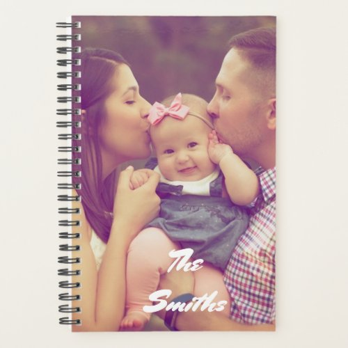 Personalised Create Your Own Photo Planner