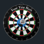"Personalised Custom Logo Dart Board<br><div class=""desc"">Personalised Custom business Logo merchandise,  gifts and clothing. Create custom products with your own logo and designs.</div>"