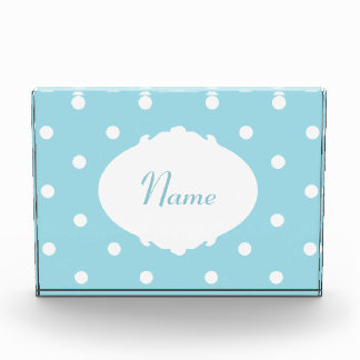 Personalised Cute Baby Name Acrylic Plaque Acrylic Award