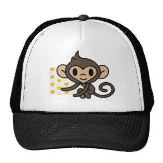 *!PERSONALISED!* cute monkey Hats