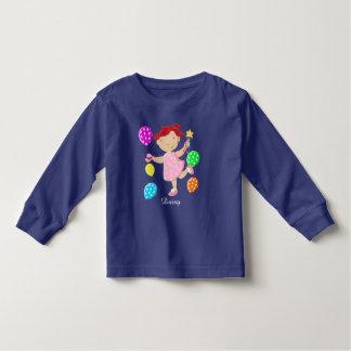Personalised Daisy Cupcake Balloons Kids Toddler T-shirt