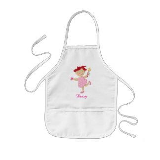 Personalised Daisy Cupcake Wand Kids Kids' Apron