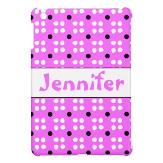 Personalised dotting pattern case for the iPad mini