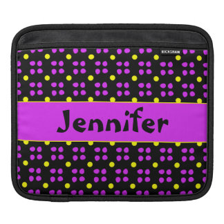 Personalised dotting pattern sleeve for iPads