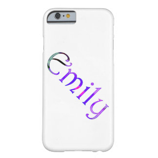 Personalised `Emily' design Barely There iPhone 6 Case