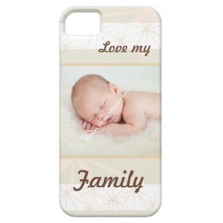 Personalised Family Photo - Love My Family iPhone SE/5/5s Case