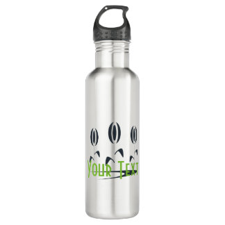 Personalised Gardener Florist Logo Water Bottle