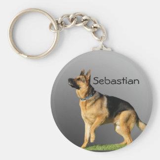 Personalised German Shepherd Key Chains