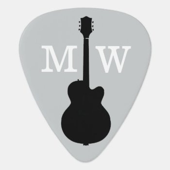 Personalised Guitar Picks For The Guitarist by mixedworld at Zazzle
