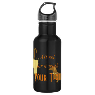 Personalised Gym Sport Dog Lover Water Bottle