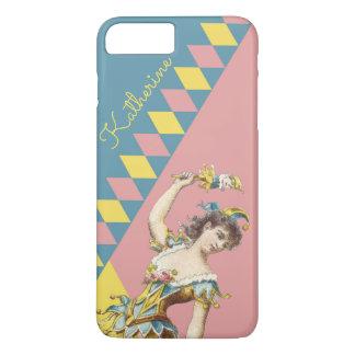 Personalised Harlequin phone case