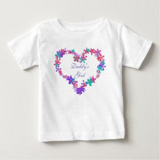 Personalised heart monogram infant t-shirt