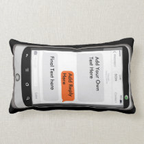 Personalised iPhone Pillow ADD TEXTs TEEN Gifts